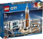 Конструктор LEGO Космическая ракета и пункт управления запуском (60228)