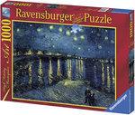 Пазл. Ravensburger. Звездная ночь, Винсент ван Гог. 1000 элементов (RSV-156146)