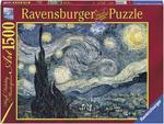 Пазл. Ravensburger. Звездная ночь, Винсент ван Гог. 1500 элементов (RSV-162079)