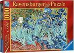 Пазл. Ravensburger. Ирисы, Винсент ван Гог. 1000 элементов (RSV-156139)