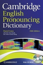 Cambridge English Pronouncing Dictionary 18th Edition with CD-ROM