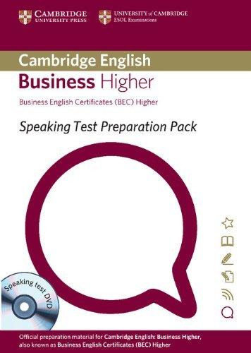 "Купить книгу ""Speaking Test Preparation Pack for BEC Higher with Speaking Test DVD"""