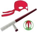 Игрушечное оружие TMNT Эволюция Черепашек-Ниндзя Cнаряжение Рафаэля (82054)