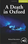 A Death in Oxford with Downloadable Audio
