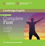 Complete. First Second Edition. Class Audio CDs