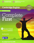 Complete. First Second Edition. Student's Pack (Student's Book without answers with CD-ROM, Workbook without answers with Audio CD)