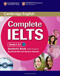 Complete IELTS. Bands 5-6.5. Student's Book with answers and CD-ROM