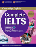 Complete IELTS. Bands 6.5-7.5. Student's Book with answers and CD-ROM and Audio CDs