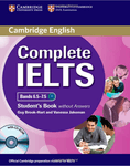Complete IELTS. Bands 6.5-7.5. Student's Book without answers with CD-ROM