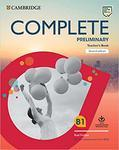 """Купить книгу """"Complete Preliminary. Second Edition. Teacher's Book with Downloadable Resource Pack"""""""