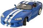 Авто-конструктор Bburago Dodge Viper GTS Coupe (1996) 1:24, синий (18-25023)