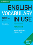English Vocabulary in Use. Third Edition. Advanced and answer key