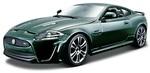 Авто-конструктор Bburago Jaguar XKR-S 1:24, темно-зеленый (18-25118)