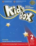 Kid's Box. Updated Second Edition 2. Activity Book with Online Resources