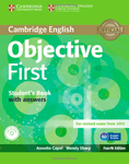 Objective. First. Fourth Edition. Student's Book with answers and CD-ROM and Class Audio CDs