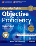 Objective Proficiency. Second Edition. Student's Book with answers, Downloadable Software and Class Audio CDs