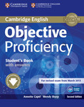 Objective Proficiency. Second Edition. Student's Book with answers and Downloadable Software