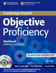 Objective Proficiency. Second Edition. Workbook without answers with Audio CD
