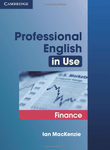 Professional English in Use. Finance with key