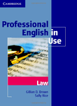 Professional English in Use. Law with key
