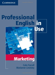 Professional English in Use. Marketing with key
