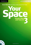Your Space 3. Teacher's Book with Tests CD