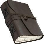 Блокнот шкіряний COMFY STRAP (чисті аркуші, темно-коричневий, ручна робота, з коробкою) - купити і читати книгу