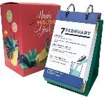 Английский календарь Gifty Happy English Year на кольцах (AA-0047699)