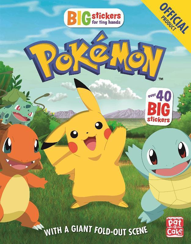 Big Stickers for Tiny Hands: Pokémon - купить и читать книгу
