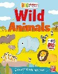 Big Stickers for Tiny Hands: Wild Animals - купить и читать книгу
