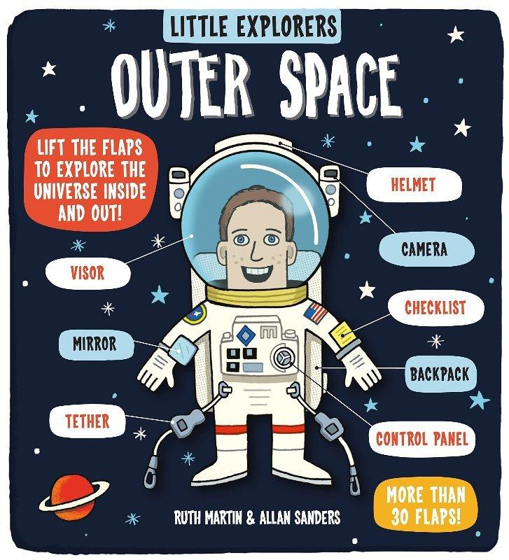"Купить книгу ""Little Explorers: Outer Space"""