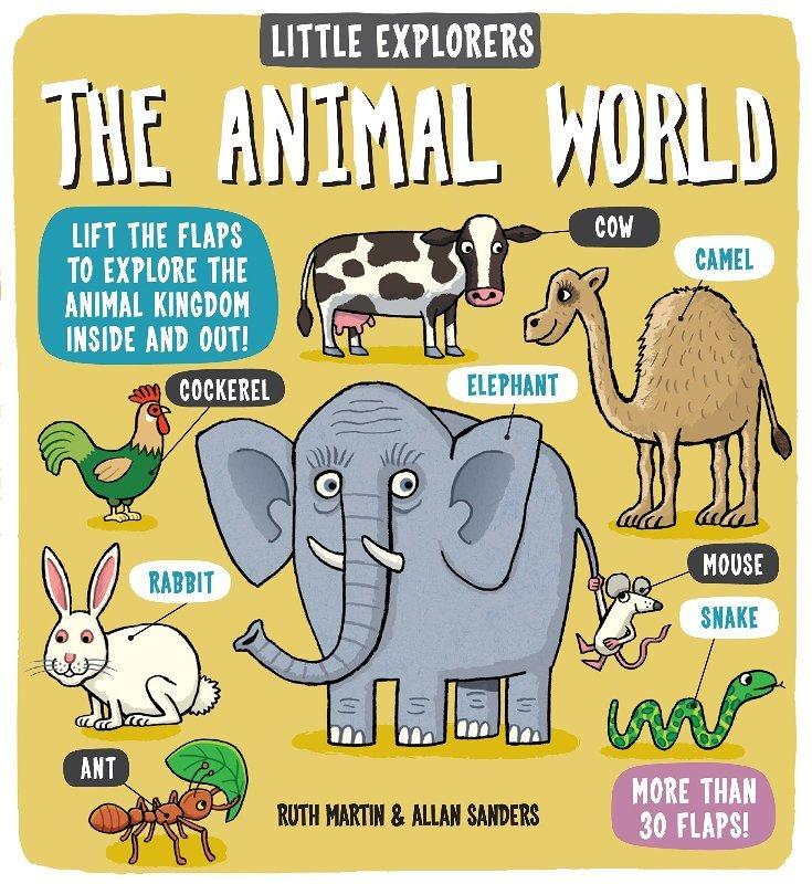 "Купить книгу ""Little Explorers: The Animal World"""