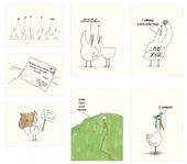 Набор открыток Gifty Гусь (AA-0035907)