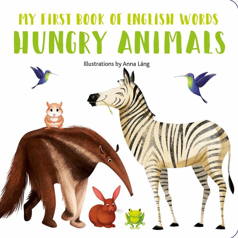 """Купить книгу """"My First Book of English Words: Hungry Animals"""""""