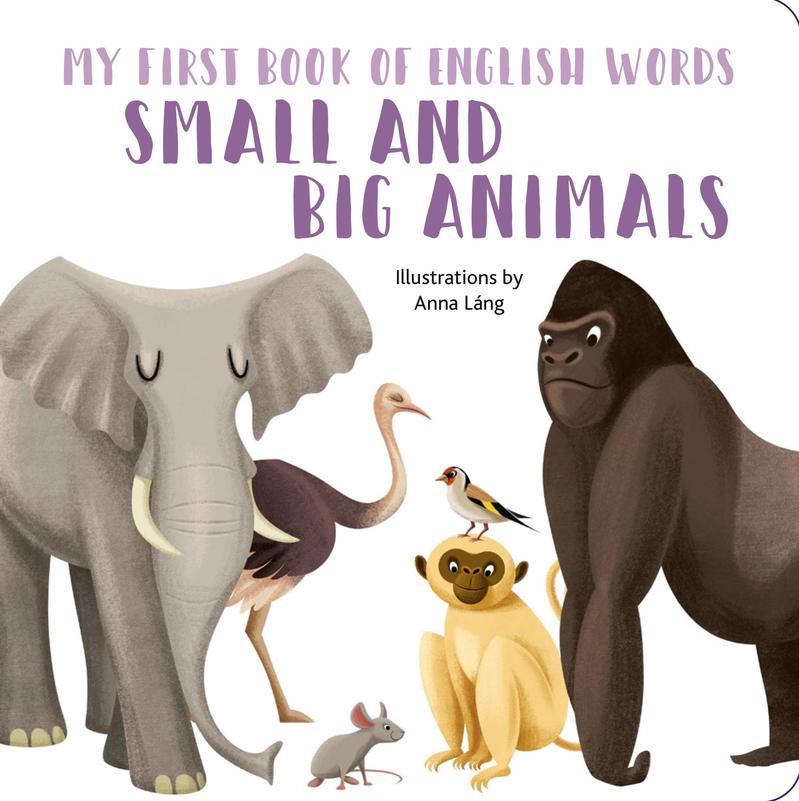 """Купить книгу """"My First Book of English Words: Small and Big Animals"""""""