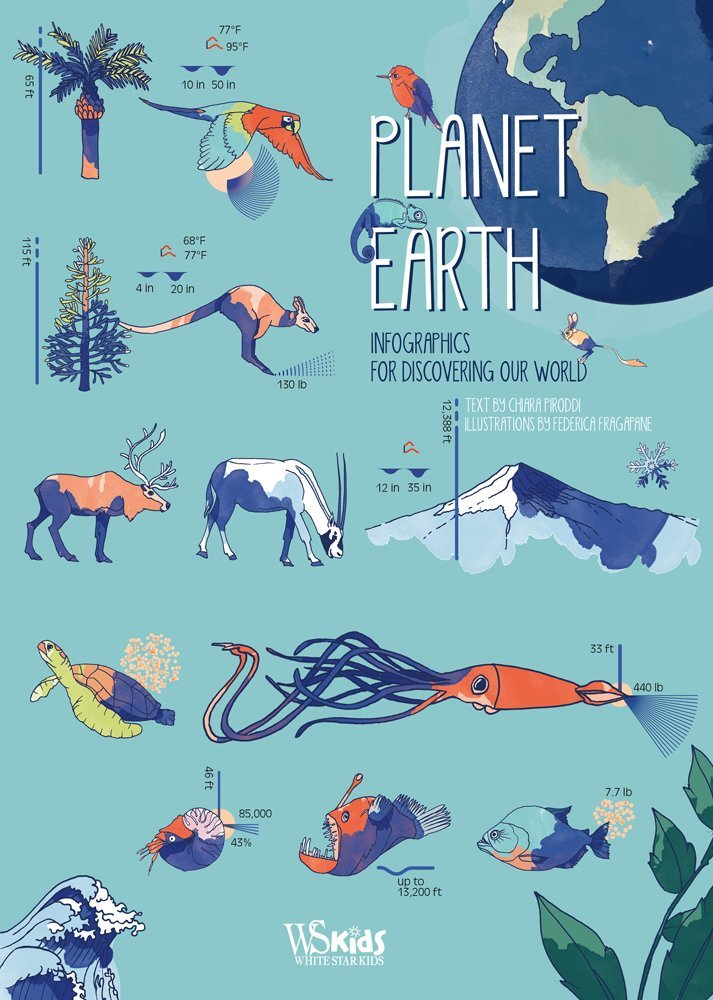 "Купить книгу ""Planet Earth: Infographics for Discovering Our World"""
