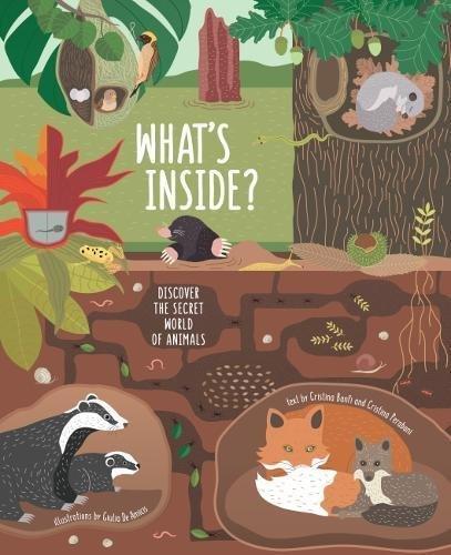 "Купить книгу ""What's Inside? Discover the Secret World of Animals"""