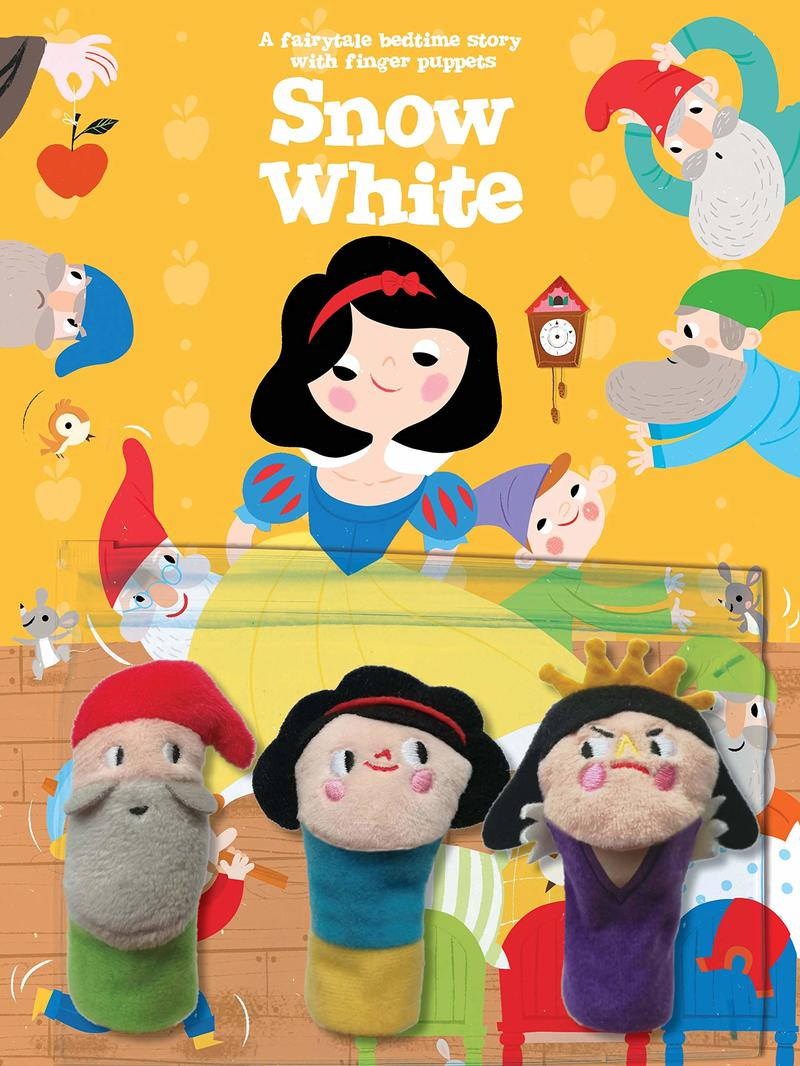 "Купить книгу ""Snow White (with Finger Puppets)"""