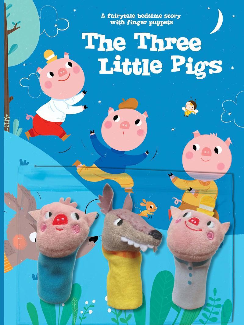 "Купить книгу ""The Three Little Pigs (with Finger Puppets)"""