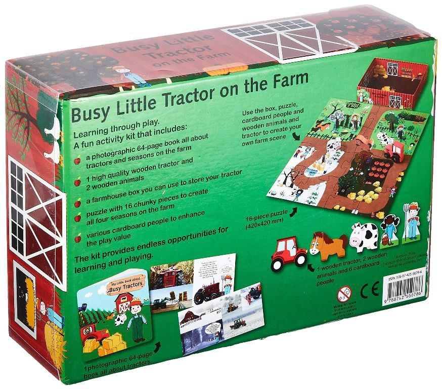 "Купить книгу ""Busy Little Tractor on The Farm"""