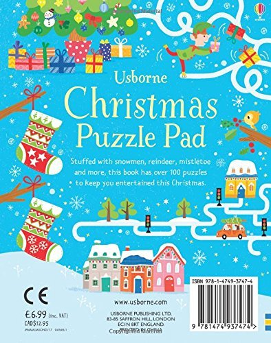 "Купить книгу ""Christmas Puzzles Pad"""