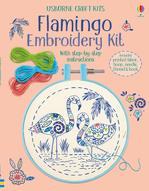 Flamingo Embroidery Kit