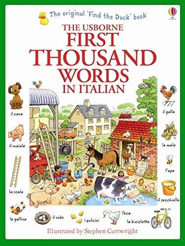 "Купить книгу ""First Thousand Words in Italian"""