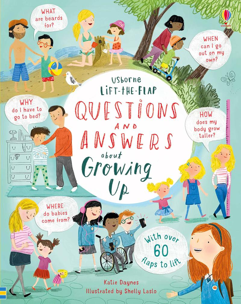"Купить книгу ""Lift-the-Flap Questions and Answers about Growing Up"""