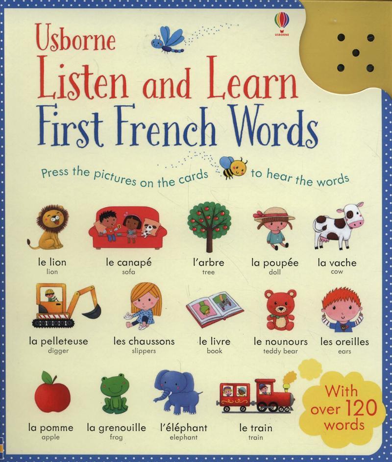 Listen and Learn First French Words - купить и читать книгу