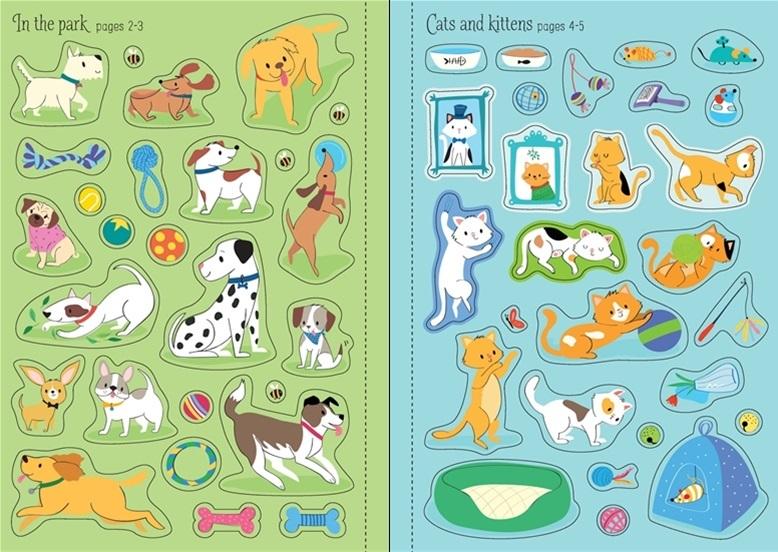 "Купить книгу ""Little First Stickers: Pets"""