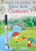 Little Wipe-Clean Word Books: Outdoors