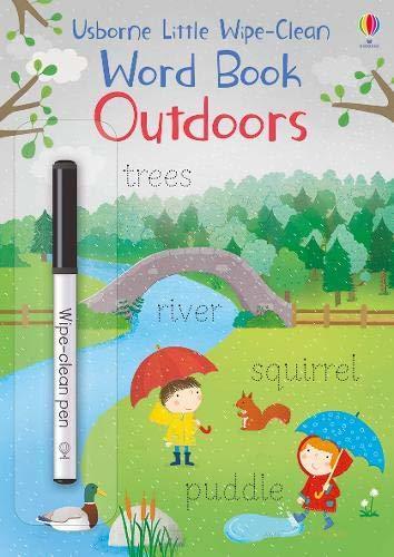"Купить книгу ""Little Wipe-Clean Word Books: Outdoors"""