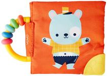 My Soft Rattle and Teether Book: Bear