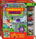 Pull-Back-And-Go Emergency Vehicles Activity Set